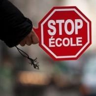 Stop-école