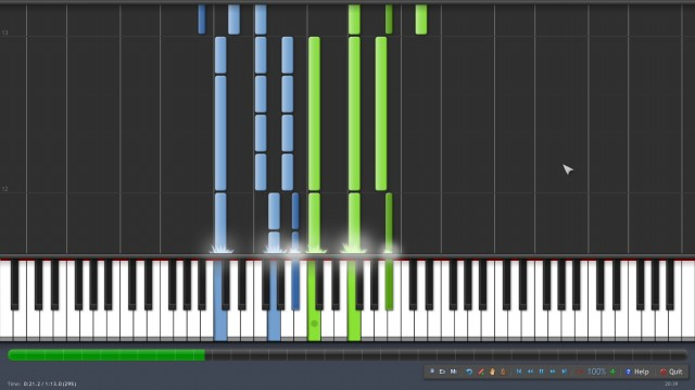 fichier midi synthesia