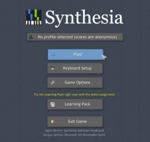 Synthesia-étape 1-play