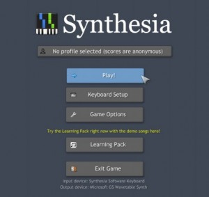 Synthesia-étape 1-play