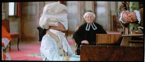 Mozart, l'enfant prodige. Extrait du film Amadeus
