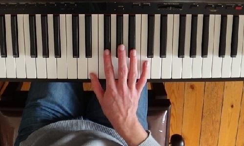 La position naturelle de la main selon Chopin