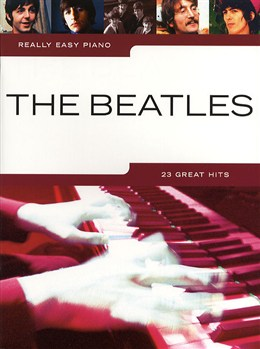 The beatles - partitions - really easy piano