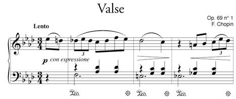 Valse en La bémol majeur de Chopin - Mains séparées pour coordonner plus facilement