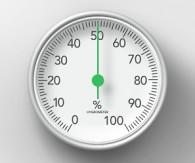 Mesurer le % d'hygrométrie
